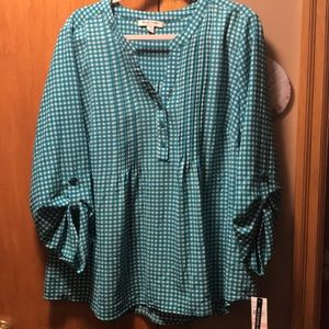 Women's Studio Works Blouse. NWT. Size 2X